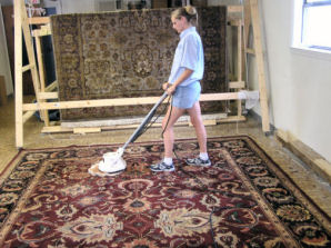 We Will Pre Test All Rugs For Color Fastness Before Cleaning Some That Are Not Colorfast Particularly Silk And Wool May Need To Be Dry Cleaned